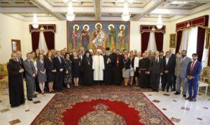 Γεύμα του Αρχιεπισκόπου Κύπρου σε θρησκευτικούς ηγέτες του νησιού (ΦΩΤΟ)