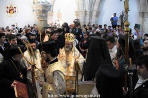 Εορτή του Αγίου Πνεύματος στην Αγία Σιών (ΒΙΝΤΕΟ & ΦΩΤΟ)