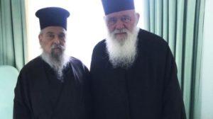 Οι ευχές του Αρχιεπισκόπου στον Λαρίσης Ιγνάτιο λίγο πριν το ταξίδι στις ΗΠΑ