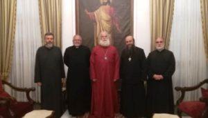 Στον Πατριάρχη Αλεξανδρείας ο Πρόεδρος Συμβουλίου Εκκλησιών της Αιγύπτου