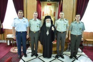 Ο Αρχηγός ΓΕΣ στον Ιεροσολύμων Θεόφιλο (ΦΩΤΟ)