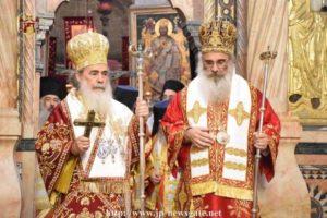 Χειροτονία του Αρχιεπισκόπου Μαδάβων Αριστοβούλου στα Ιεροσόλυμα (ΒΙΝΤΕΟ & ΦΩΤΟ)