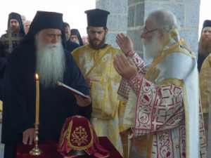 Εγκαίνια Ναού στην Μονή Αγίου Παύλου από τον Αλεξανδρείας Θεόδωρο (ΦΩΤΟ)