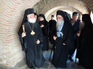 Στο Αγιο Ορος ο Πατριάρχης Αλεξανδρείας Θεόδωρος Β΄-Η υποδοχή από τον Πρωτοεπιστάτη