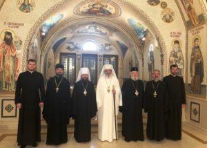Συναντήσεις του Βολοκολάμσκ Ιλαρίωνα με Προκαθημένους Εκκλησιών (ΦΩΤΟ)