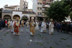 Τρίπολη: Μεγαλοπρεπής Λιτανεία των λειψάνων των Πολιούχων της πόλης (ΦΩΤΟ)