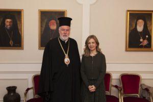 Συνάντηση του Βελγίου Αθηναγόρα με την Υφυπουργό Παιδείας (ΦΩΤΟ)
