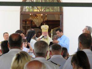 Η εορτή των Αγίων Κωνσταντίνου και Ελένης στο Ναύσταθμο Σαλαμίνας (ΦΩΤΟ)
