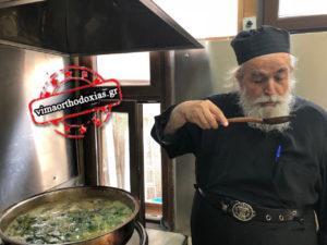 Ο π. Επιφάνιος ο Μυλοποταμινός στο ΒΗΜΑ ΟΡΘΟΔΟΞΙΑΣ για την αγιορείτικη μαγειρική