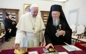Η συνάντηση Βαρθολομαίου-Φραγκίσκου στο Βατικανό (ΒΙΝΤΕΟ & ΦΩΤΟ)