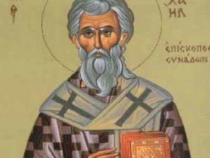 23 Μαΐου- Γιορτή σήμερα: Του Οσίου Μιχαήλ, του Επισκόπου Συνάδων και Ομολογητού