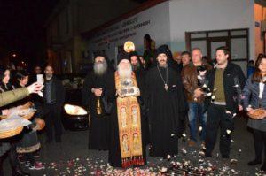Υποδοχή Τιμίας Κάρας Αγίου Ιωάννου του Χρυσοστόμου στη Λεμεσό (ΒΙΝΤΕΟ)