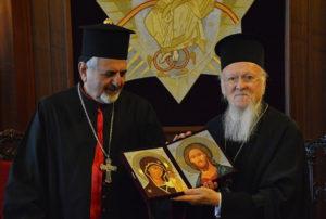 Ο Συροκαθολικός Πατριάρχης Αντιοχείας Ιγνάτιος Ιωσήφ Γ' Γιουνάν στο Οικουμενικό Πατριαρχείο