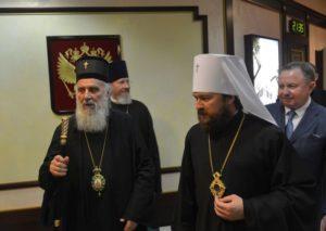 Στη Μόσχα ο Πατριάρχης Σερβίας Ειρηναίος (ΦΩΤΟ)