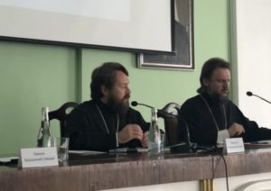 Ο Βολοκολάμσκ Ιλαρίων σε συνέδριο για τον εξτρεμισμό από θεολογικής όψεως