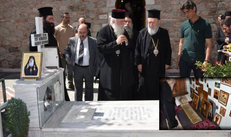 Προσκύνημα του Αρχιεπισκόπου στο μοναστήρι του Οσίου Ιακώβου Τσαλίκη (ΦΩΤΟ)