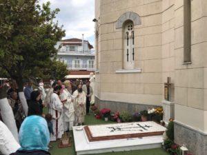 Ψυχοσάββατο στο Προσκύνημα του Οσίου Ιωάννου του Ρώσσου
