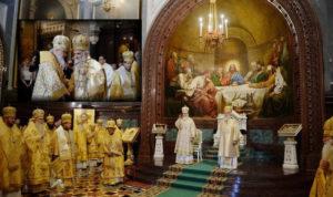 Λαμπρό Πατριαρχικό Συλλείτουργο στη Μόσχα (ΦΩΤΟ)