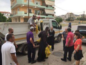 Δωρεά τροφίμων από τον δήμο Λαμιέων στη Μητρόπολη Φθιώτιδος (ΦΩΤΟ)