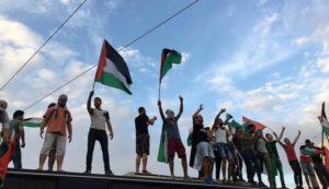 Παλαιστίνη: Οι Παλαιστίνιοι της Αθήνας διαδηλώνουν- Ένταση στην Ισραηλινή Πρεσβεία