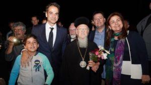 Στην Ιμβρο με τον Οικ.Πατριάρχη ο Κυριάκος Μητσοτάκης (ΦΩΤΟ)
