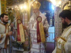 Η εορτή του Αγίου Στεφανά στη Μητρόπολη Κορίνθου (ΦΩΤΟ)