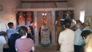 Εορτή του Οσίου Ιερωνύμου στον Βυζαντινό Ιερό Ναό της Αρχαίας Τανάγρας (ΦΩΤΟ)