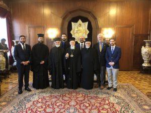 Επίσκεψη του Μεταπτυχιακού Ινστιτούτου Ορθοδόξου Θεολογίας Σαμπεζύ στην Κωνσταντινούπολη (ΦΩΤΟ)