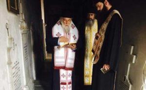 Τρισάγιο από τον Κερκύρας Νεκτάριο στην Ιερά Μονή Υ.Θ. Πλατυτέρας (ΦΩΤΟ)