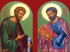 11 Ιουνίου- Γιορτή σήμερα: Των Αγίων Αποστόλων Βαρθολομαίου και Βαρνάβα
