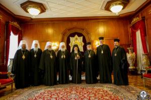Ουκρανοί στον Βαρθολομαίο για την Αυτοκεφαλία