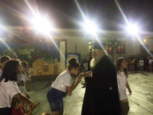 Ο Παροναξίας Καλλίνικος σε σχολείο της Νάξου (ΦΩΤΟ)
