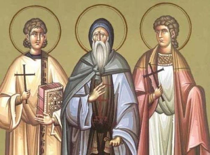 Άγιοι Μανουήλ, Σαβέλ και Ισμαήλ - Γιορτή σήμερα 17 Ιουνίου ...