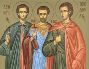 18 Ιουνίου: Εορτή του Αγίου Λεοντίου και των συν αυτώ Μαρτυρησάντων