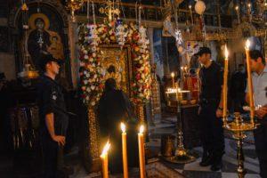 Αγρυπνία απόψε στο Πρωτάτο υπό του Δράμας για τον εορτασμό της Παναγίας