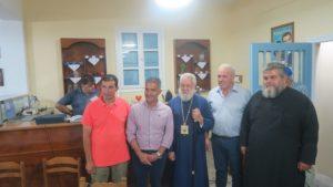 Ο Σύρου Δωρόθεος στα εγκαίνια γραφείων του «Συλλόγου Φίλων Στέλιου Καζαντζίδη» (ΦΩΤΟ)