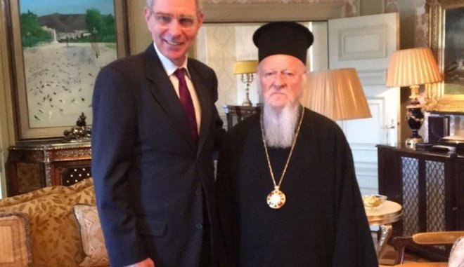 Αποτέλεσμα εικόνας για συναντηση πατριαρχη pyatt