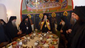 Ο Ναυπάκτου Ιερόθεος στην πανήγυρη της Ιεράς Μονής Καρακάλλου Αγίου Ορους (ΦΩΤΟ)