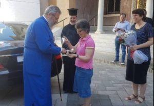 Εξιτήριο έλαβε σήμερα ο Αρχιεπίσκοπος Κύπρου