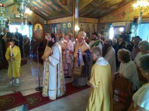 Εορτάσθη η μνήμη του Οσίου Νικοδήμου του Αγιορείτου στο Μετόχιον της Ι.Μ. Μαρίτσης (ΦΩΤΟ)