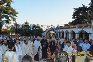 Πλήθος κόσμου στην Πανήγυρη της Αγίας Μαρίνας στον Μαΐστρο Αλεξανδρουπόλεως (ΦΩΤΟ)