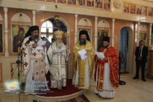Ο Ιεροσολύμων Θεόφιλος στην εγκατάσταση του νέου Επιτρόπου Β.Ιορδανίας (ΦΩΤΟ)