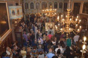 Αντίγραφο της Παναγίας Παραμυθίας από το Βατοπαίδι μόνιμα στη Λευκάδα (ΦΩΤΟ)