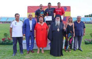 Ο Φιλίππων Στέφανος σε διεθνή αγώνα στίβου