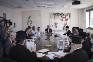 «Παραγωγική» η συνεδρίαση της Επιτροπής Πολιτείας-Εκκλησίας Ελλάδος – Οσα συζητήθηκαν
