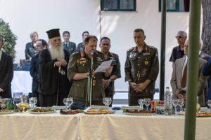 Ο Ελληνικός Στρατός εόρτασε τον προστάτη των Διαβιβάσεων Αγιο Παΐσιο (ΦΩΤΟ)