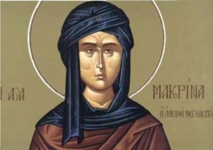19 Ιουλίου- Γιορτή σήμερα: Της Αγίας Μακρίνας