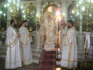 Η Ι.Μ. Κορίνθου τίμησε την Αγία Μαρίνα (ΦΩΤΟ)
