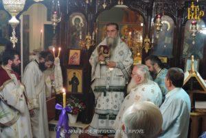 Αρχιερατική Θεία Λειτουργία στο Δίστρατο Άρτης (ΦΩΤΟ)