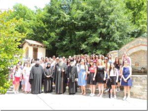 Ο Κίτρους Γεώργιος με νέες της Μητρόπολης στην Ι. Μονή Κλεισούρας Καστοριάς (ΦΩΤΟ)